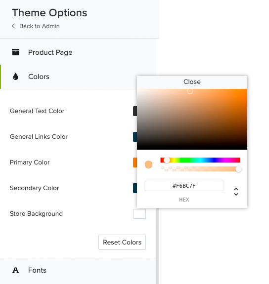 Jumpseller Themes Options