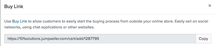 036a74d37d Como criar links de compra direta para seus produtos
